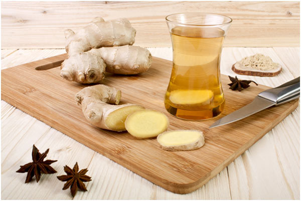 prepare ginger tea