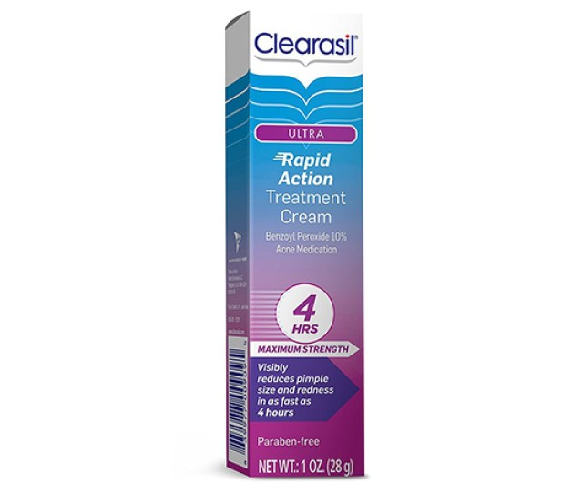 Medicine For Pimples Clearasil Ultra Rapid Action Vanishing Acne Treatment Cream