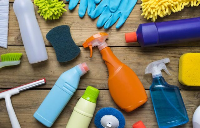 7. Cleaning Products