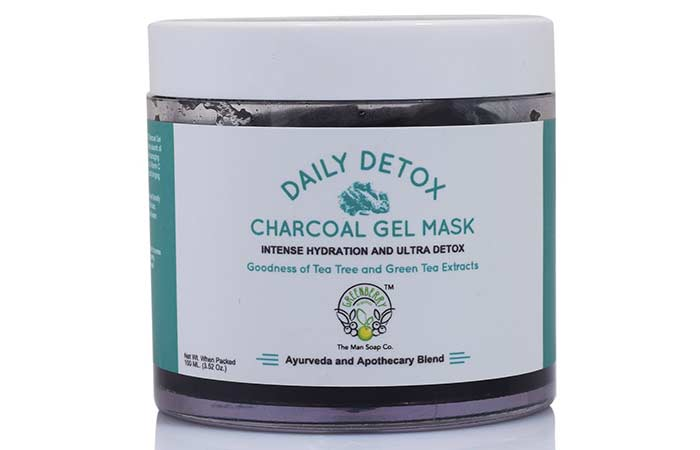 10. Greenberry Organics Charcoal Gel Face Mask