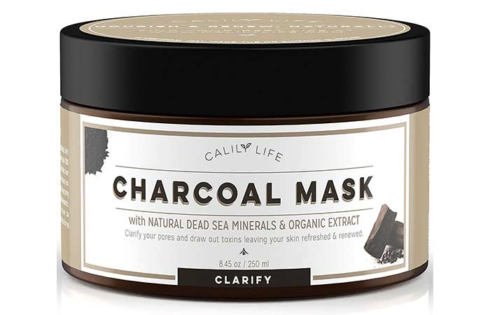 3. Calily Life Charcoal Face Mask