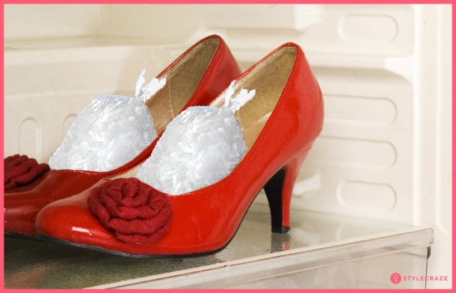 11. Stretch Out Tight Shoes By Freezing Them