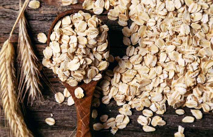 alimentos que fazem cocô - Farinha de Aveia