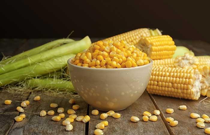 alimentos que fazem cocô - Milho