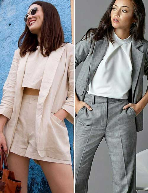 5. Pantsuits For Short Women