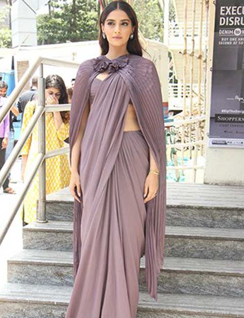 Cape-Saree Tired Of Old Saree Drapes? Try 21 Modern Styles No One Told You About! Random
