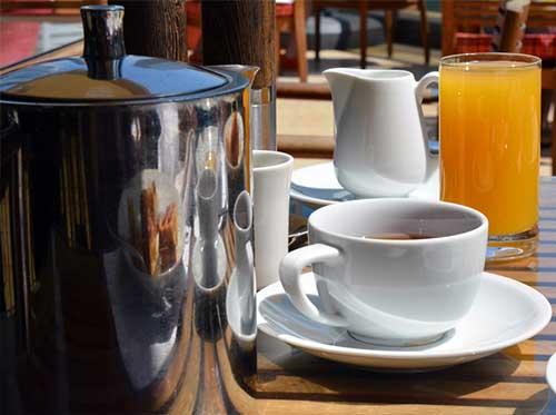 Orange Juice And Coffee