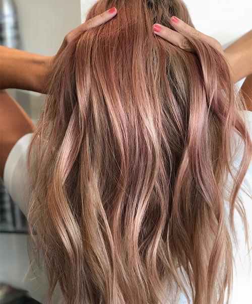 Rose Golden Brown