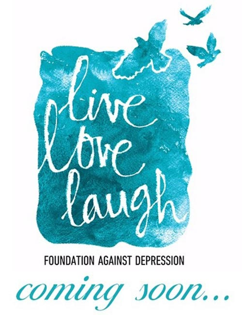 founding the Live Love Laugh Foundation.