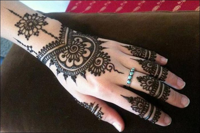 18 Amazing Engagement Mehendi Patterns And Designs You Must
