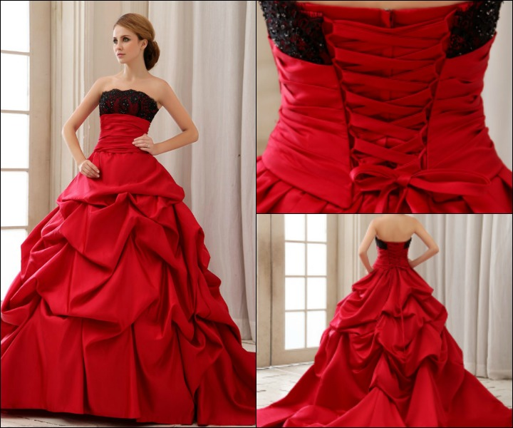 10 Ravishing Bridal Ideals For The Red Gown For Wedding