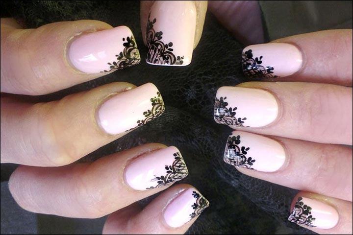 Bridal Nail Art Designs Veiled Beauty