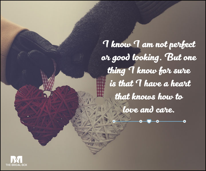 Quotes About Love Not Being Perfect