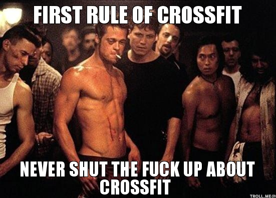 embrace the suck crossfit meme