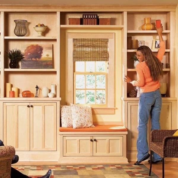 Stylish Shelves The Family Handyman