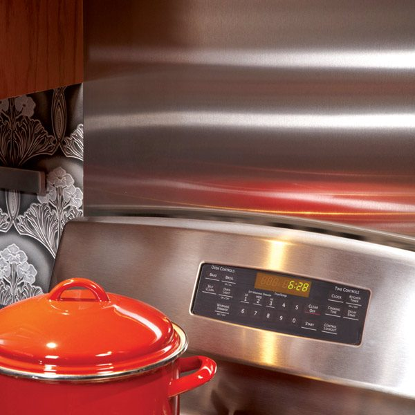 Ideas For The Kitchen Stainless Steel Backsplash The