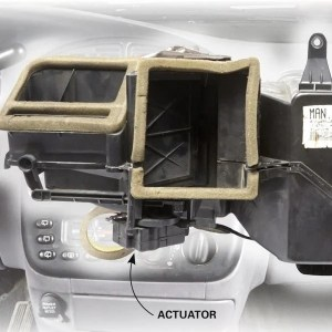 Car Heater Blowing Cold Air? Check the Actuator | The Family Handyman