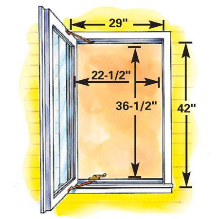 Figure C Minimum Size Cat Egress Window