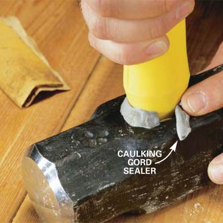 Replace A Maul Handle Or Other Striking Tool Handle The Family Handyman