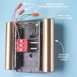 Adding a Second Doorbell Chime | The Family Handyman