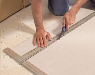 Install a Ceramic Tile Floor In the Bathroom   The Family Handyman Photo