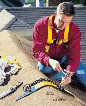 How To Properly Use A Roof Safety Harness