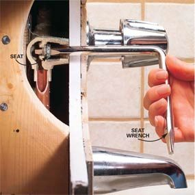 How To Repair A Leaking Tub Faucet The Family Handyman