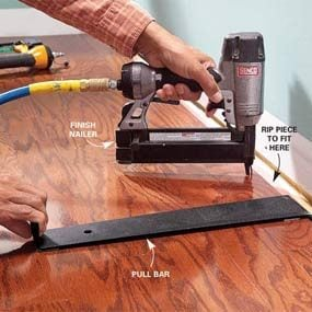 Install Prefinished Wood Flooring   The Family Handyman Install Prefinished Wood Flooring
