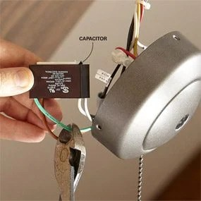 How to Install a Ceiling Fan Remote   The Family Handyman How to Install a Ceiling Fan Remote