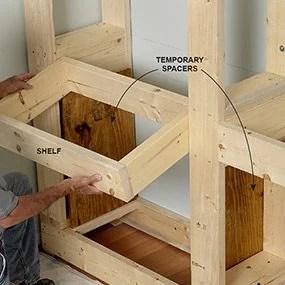 Framing Built In Shelves Fachriframe Co