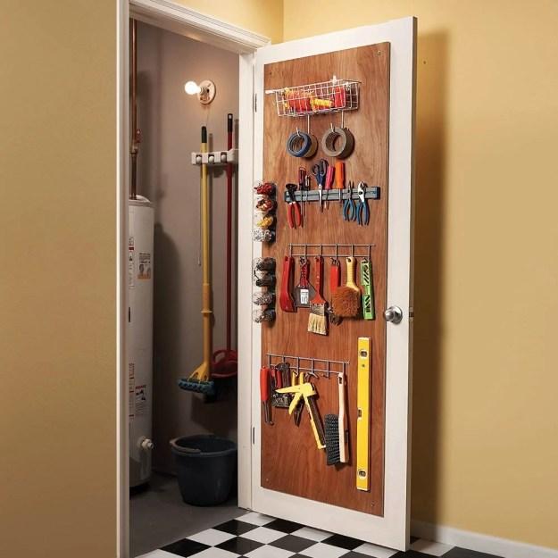 18 inspiring inside-cabinet door storage ideas | the family handyman