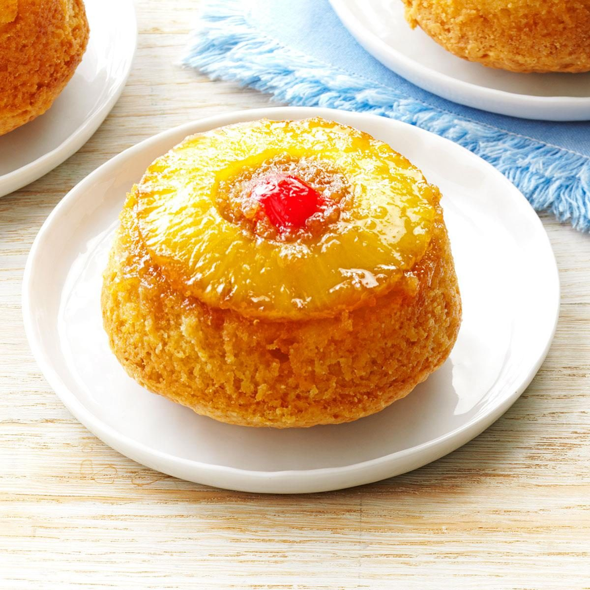 Healthy Pineapple Upside Down Cake Recipe