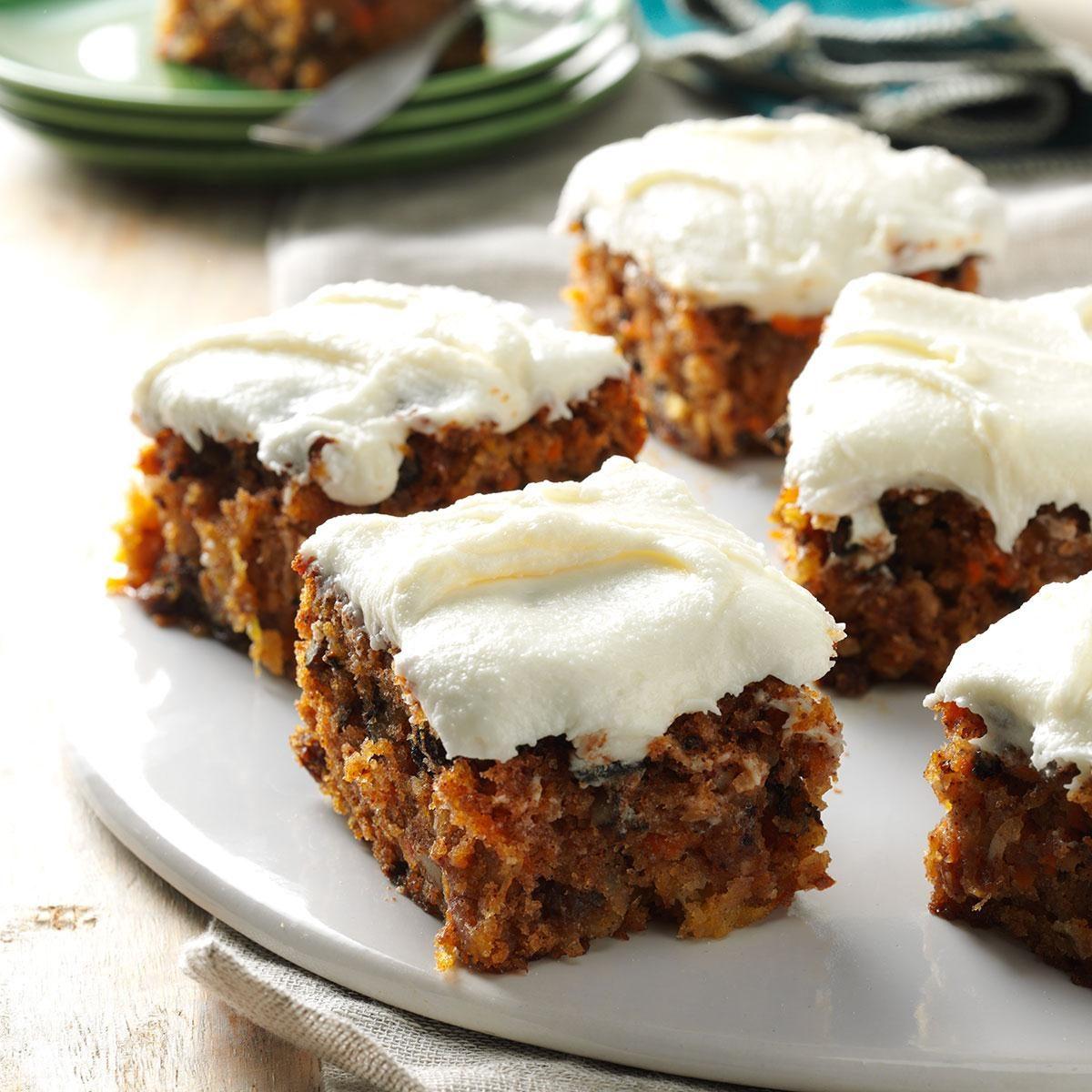 Tropical Carrot Cake Recipe Taste Of Home