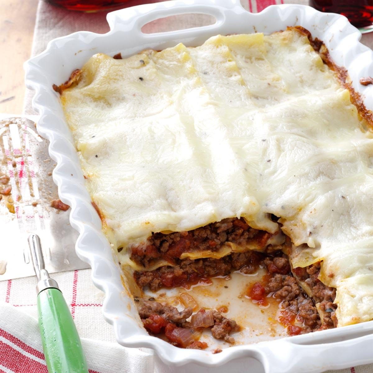Lasagna With White Sauce Recipe Taste Of Home