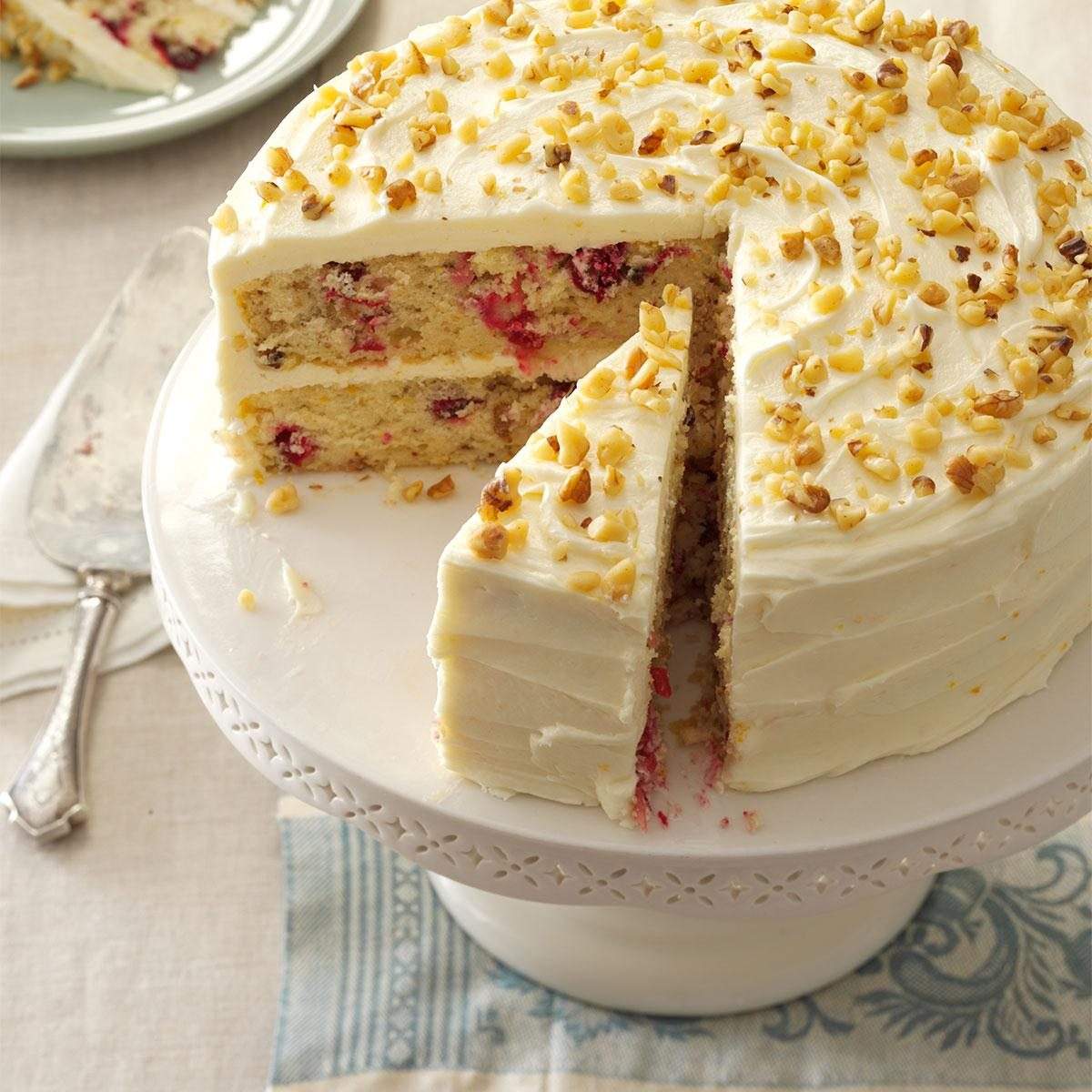 Cranberry Layer Cake Recipe