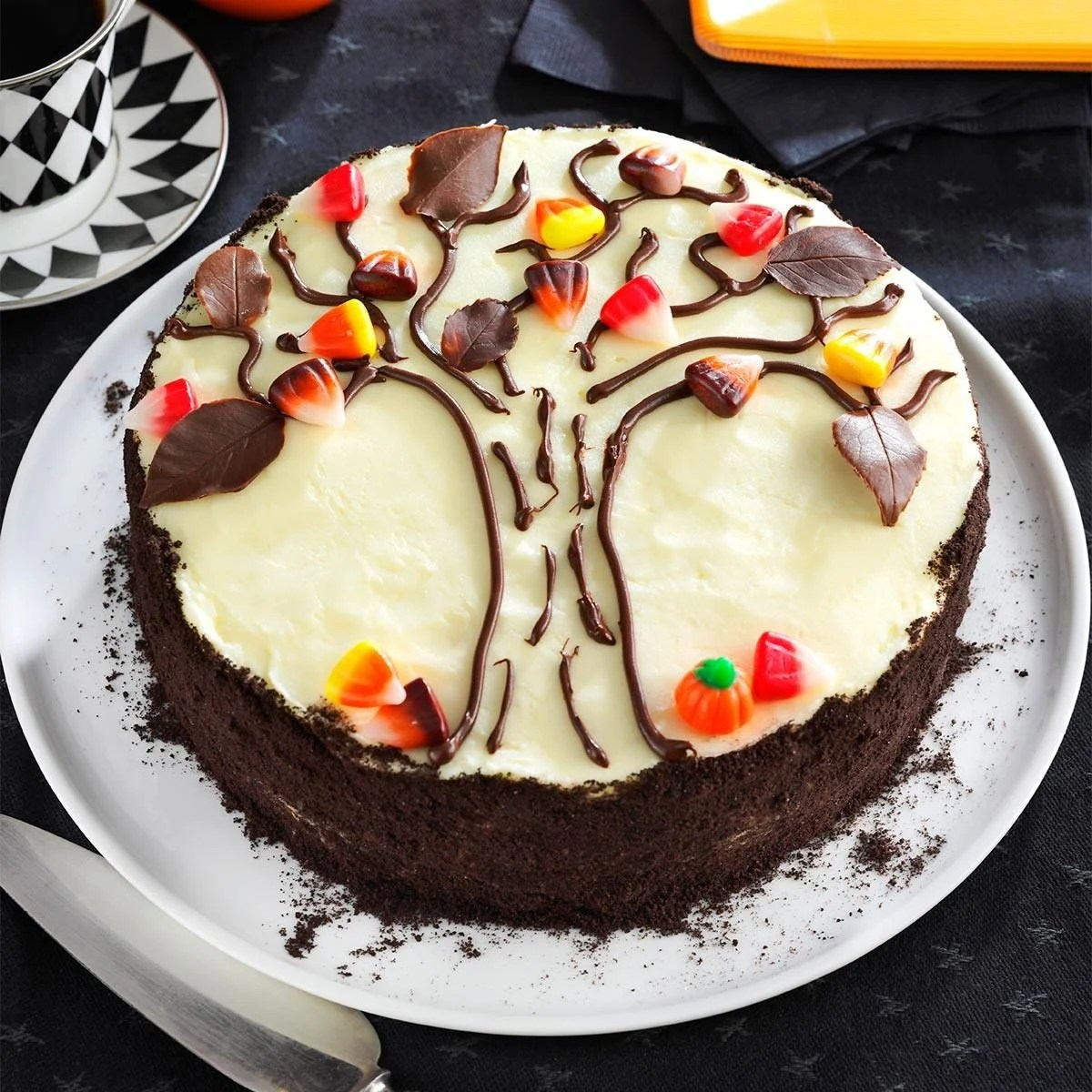 Autumn Tree Cake Recipe