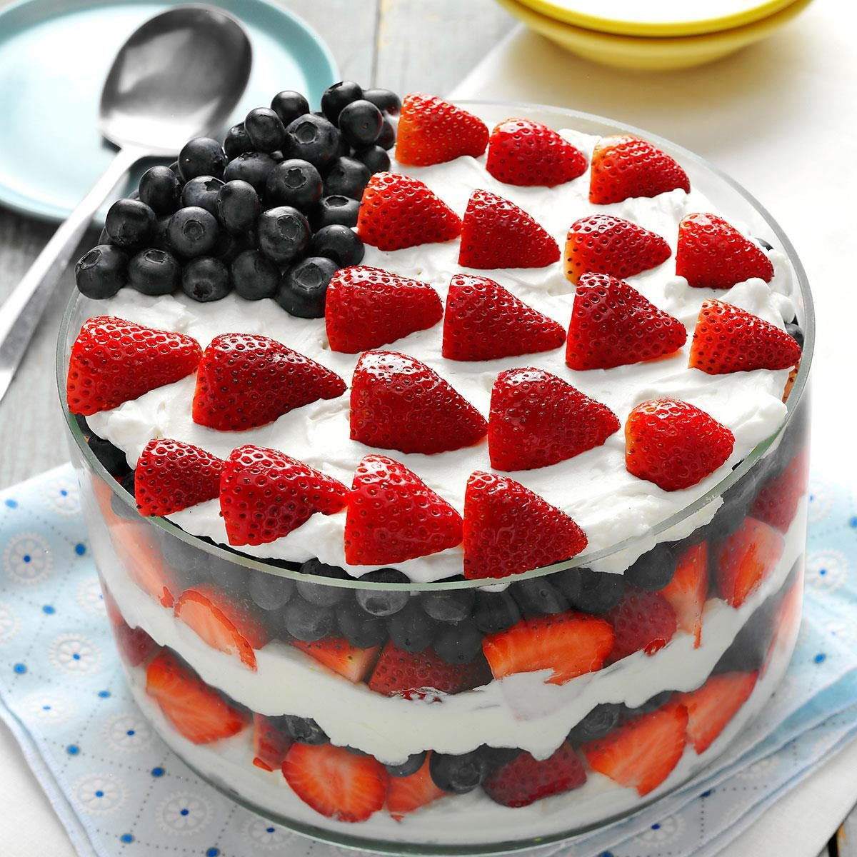 Red White And Blue Dessert Recipe