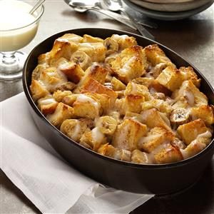 Banana Bread Pudding Recipe
