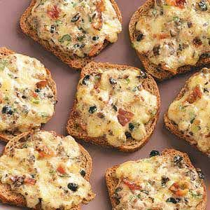 Cheese Rye Appetizers Recipe