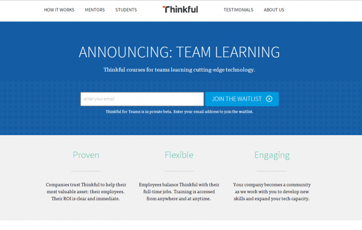 ThinkfulforTeams 730x463 Thinkful for Teams launched to supercharge your companys coding nous