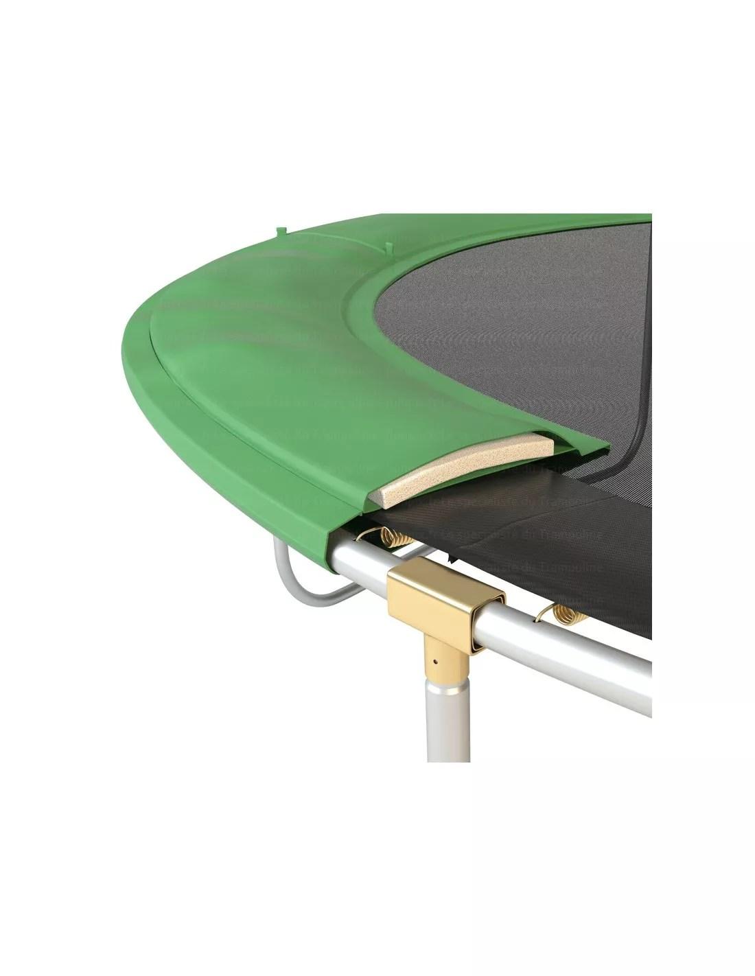 coussin de protection pour trampoline 305 cm couvre ressort pour trampoline topflex