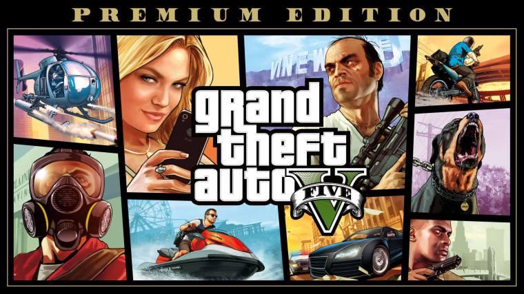 Grand Theft Auto V - Grand Theft Auto V: Premium Edition