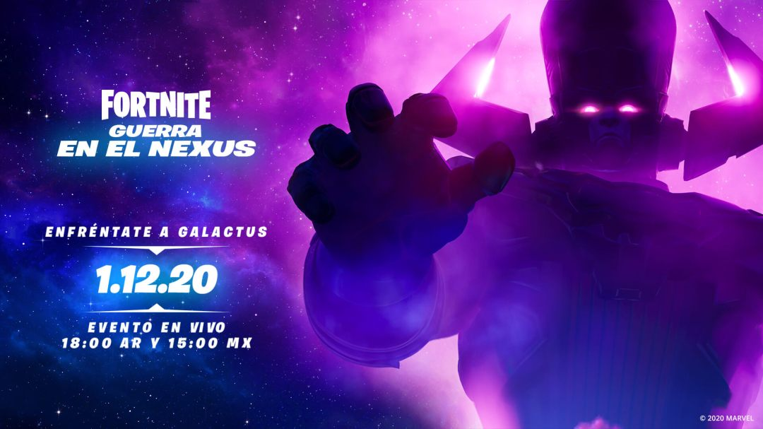 Galactus ya llegó! Únanse a la lucha en el evento de Fortnite este 1 de  diciembre