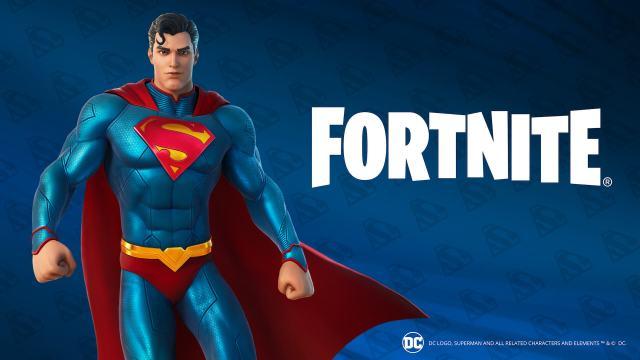 Fortnite Battle Pass Superman