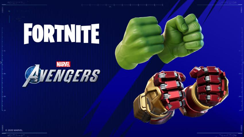 Fortnite Hulk Smasher Pickaxe And Hulkbuster Style