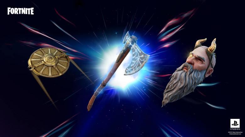Fortnite Kratos Oathbreaker Set