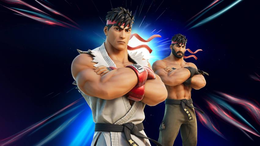 Fortnite Ryu Outfit From Street Fighter