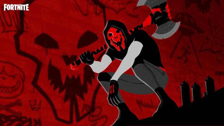 Fortnite Skull Stalker Loading Screen