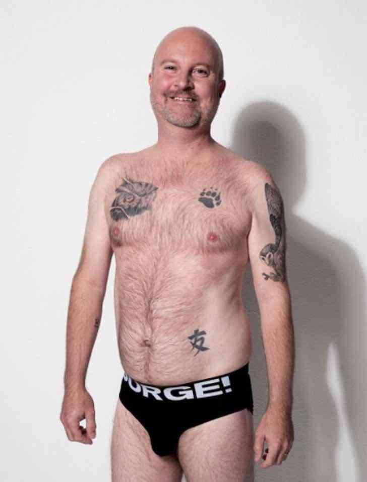 modelos comunes ropa interior0007 - Marca de ropa interior masculina optó por modelos comunes y corrientes. Quieren apoyar la diversidad