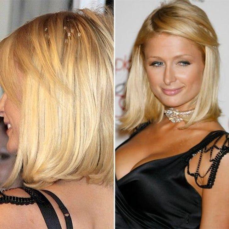 3 35 - 15 veces que a las famosas se les notó el cabello falso. Beyoncé tuvo que sujetar su peluca